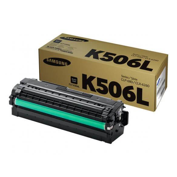 Cartouche de toner noir Samsung CLT-K506L - à rendement élevé - 6000 pages (photo)