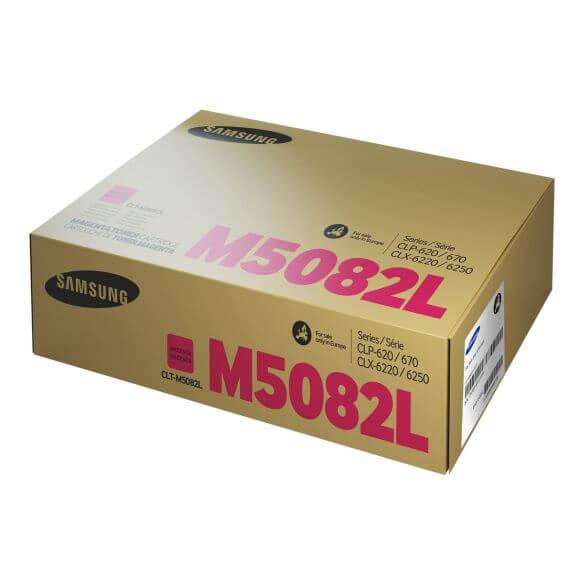 Cartouche de toner magenta Samsung CLT-M5082L - à rendement élevé - 4000 pages (photo)