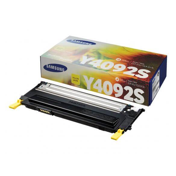 Cartouche de toner jaune Samsung CLT-Y4092S - 1000 pages (photo)