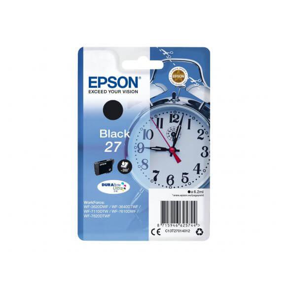 Consommable Epson 27 - noir - originale - cartouche d'encre