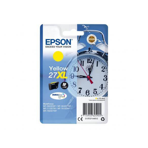 Consommable Epson 27XL - XL - jaune - originale - cartouche d'encre
