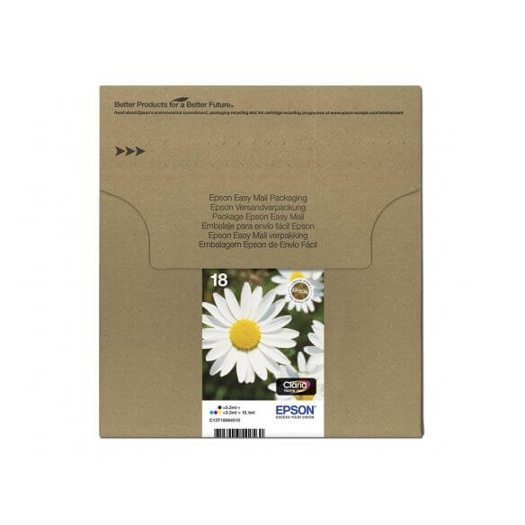 Consommable Epson T1806 Easy Mail Packaging - pack de 4 - noir, jaune, cyan, magenta - ori