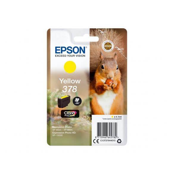 Consommable Epson 378 - jaune - originale - cartouche d'encre