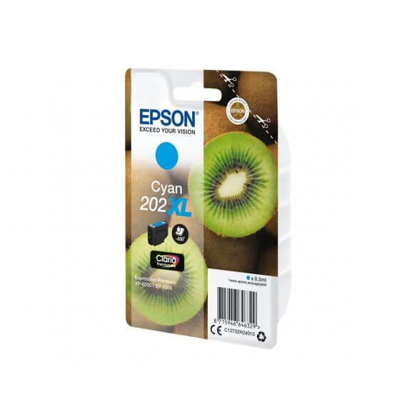 Consommable Epson 202XL - haute capacité - cyan - originale - cartouche d'encre