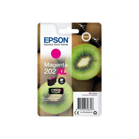 Consommable Epson 202XL - XL - magenta - originale - cartouche d'encre