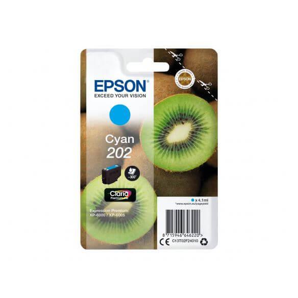 Consommable Epson 202 - cyan - originale - cartouche d'encre
