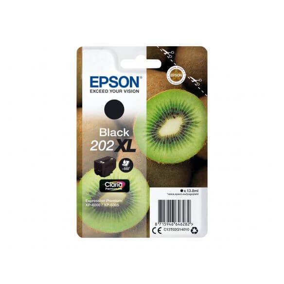 Consommable Epson 202XL - XL - noir - originale - cartouche d'encre