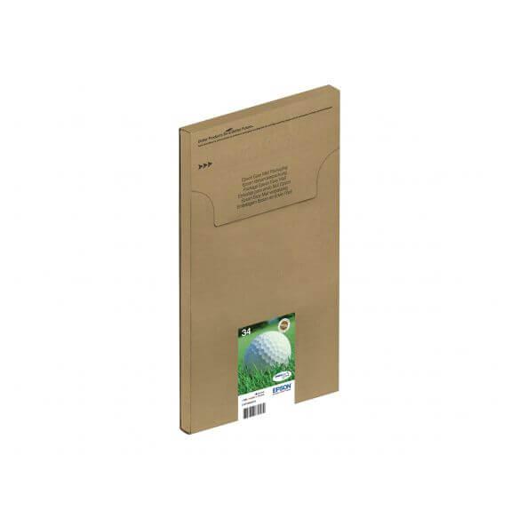 Consommable Epson DURABrite Ink Multipack 4-clr 34 EasyMail - pack de 4 - noir, jaune, cya