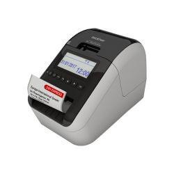 Brother QL-820NWB - imprimante d'étiquettes - deux couleurs (monochrome) - thermique directe