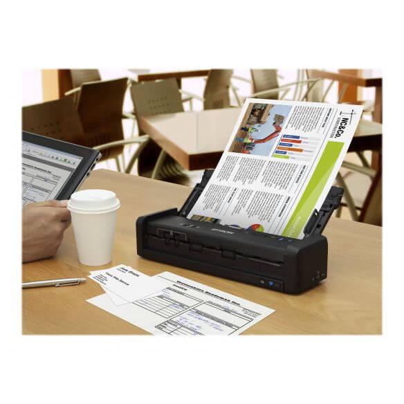 Epson WorkForce DS-360W - scanner de documents - modèle bureau - USB 3.0, Wi-Fi(n)