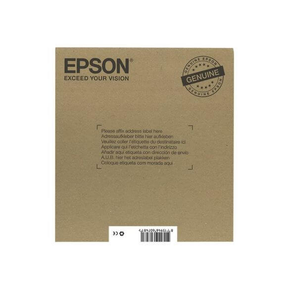 Consommable Epson T1306 Multipack Easy Mail Packaging - pack de 3 - jaune, cyan, magenta -
