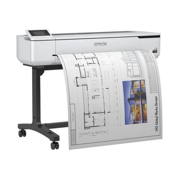 Imprimante Epson SureColor SC-T5100 - imprimante grand format - couleur - jet d'encre