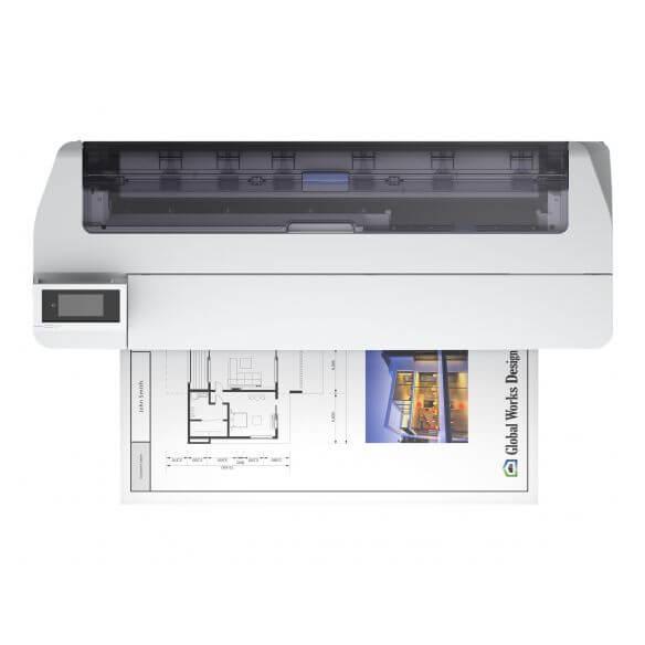 Imprimante Epson SureColor SC-T5100N - imprimante grand format - couleur - jet d'encre