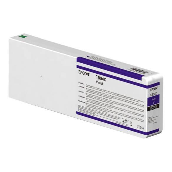 Consommable Epson T804D00 - violet - originale - cartouche d'encre