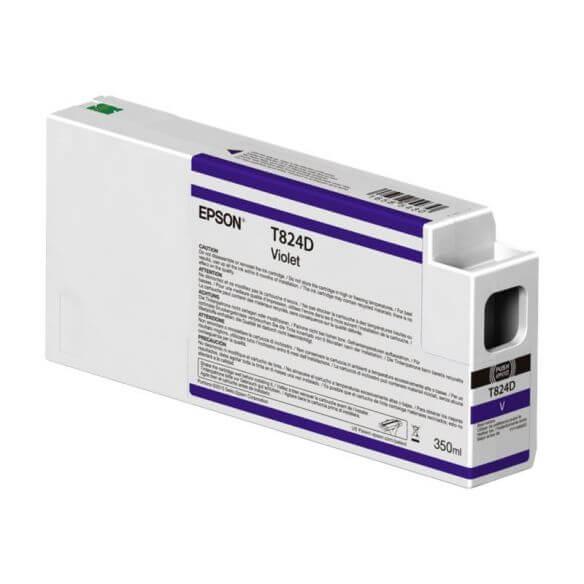 Consommable Epson T824D - violet - originale - cartouche d'encre