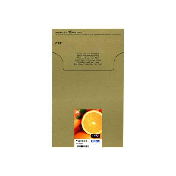 Consommable Epson Multipack 33 - pack de 5 - noir, jaune, cyan, magenta, photo noire - ori