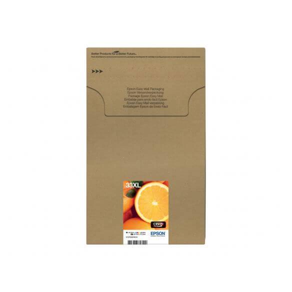 Consommable Epson 33XL Multipack - pack de 5 - XL - noir, jaune, cyan, magenta, photo noir
