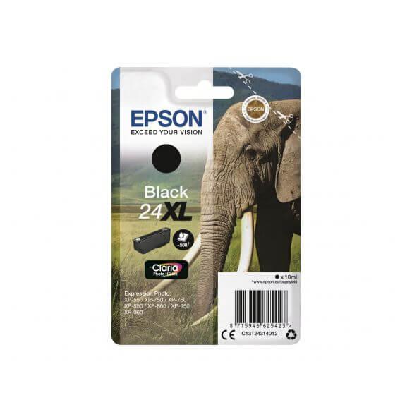 Consommable Epson 24XL - XL - noir - originale - cartouche d'encre
