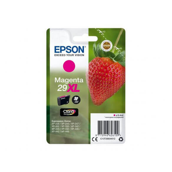 Consommable Epson 29XL - XL - magenta - originale - cartouche d'encre