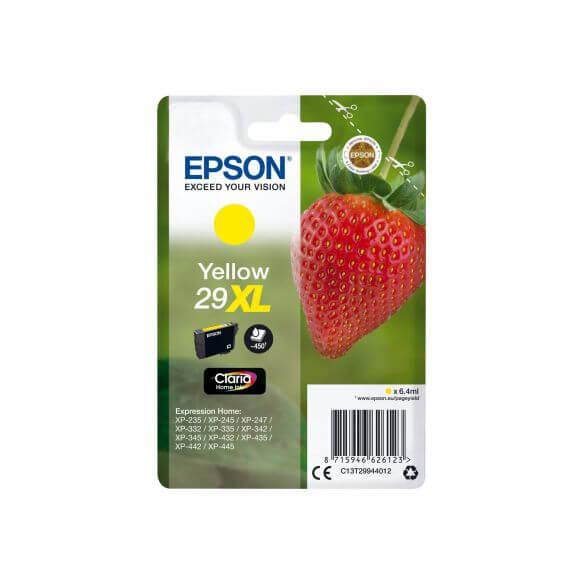 Consommable Epson 29XL - XL - jaune - originale - cartouche d'encre