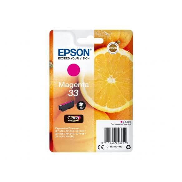 Consommable Epson 33 - magenta - originale - cartouche d'encre