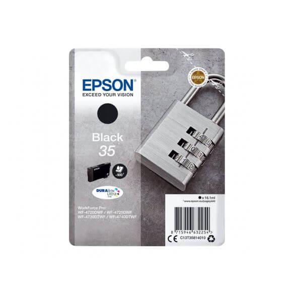 Consommable Epson 35 - noir - originale - cartouche d'encre