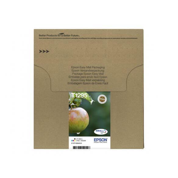 Consommable Epson Multipack T129 EasyMail - pack de 4 - taille L - noir, jaune, cyan, mage