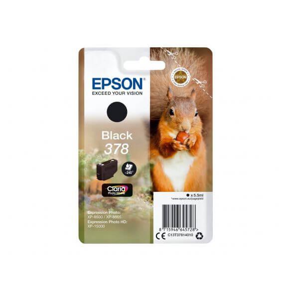 Consommable Epson 378 - noir - originale - cartouche d'encre