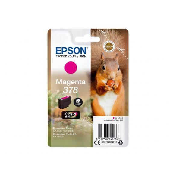 Consommable Epson 378 - magenta - originale - cartouche d'encre