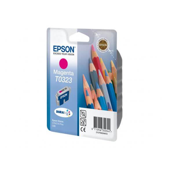 Consommable Epson T0323 - magenta - originale - cartouche d'encre