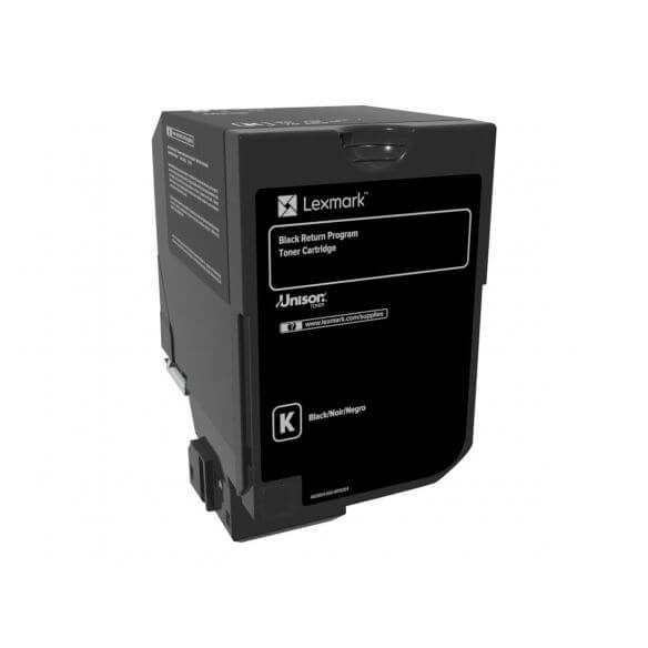 Consommable Lexmark - noir - originale - cartouche de toner - LCCP, LRP