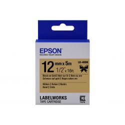 Epson LabelWorks LK-4KBK - bande d'étiquettes - 1 rouleau(x) - Rouleau (1,2 cm x 5 m)