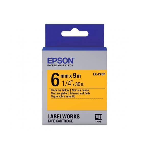 Imprimante Epson LabelWorks LK-2YBP - bande d'étiquettes - 1 rouleau(x) - Rouleau (0,6 cm
