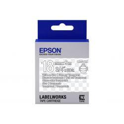 Epson LabelWorks LK-5TWN - bande d'étiquettes - 1 rouleau(x) - Rouleau (1,8 cm x 9 m)