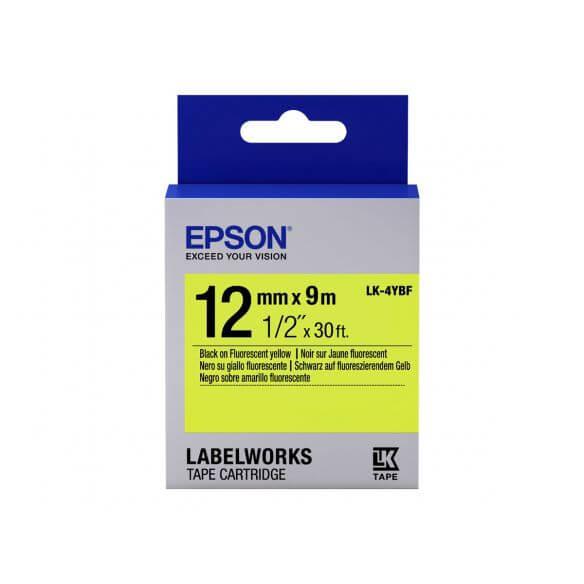 Imprimante Epson LabelWorks LK-4YBF - bande d'étiquettes - 1 rouleau(x) - Rouleau (1,2 cm