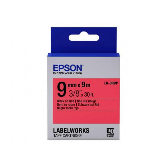Imprimante Epson LabelWorks LK-3RBP - bande d'étiquettes - 1 rouleau(x) - Rouleau (0,9 cm