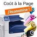 Imprimante coût à la page