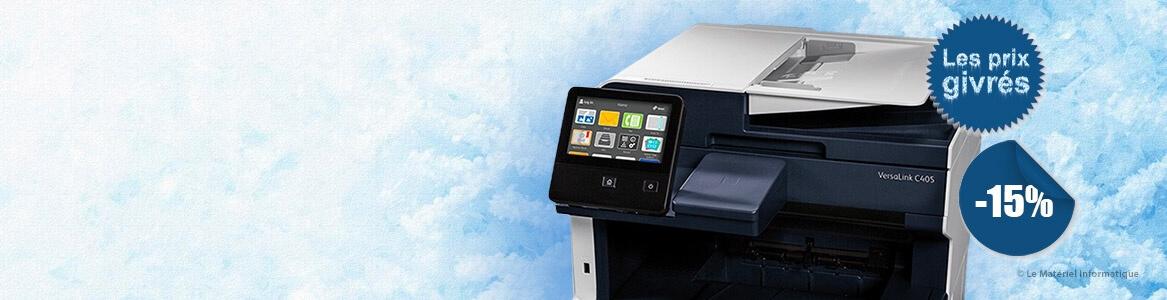 Moins 15% sur l'imprimante multifonction Xerox Versalink C405 DN !