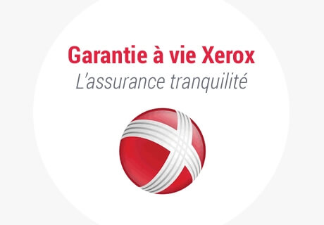 Garantie à vie Xerox